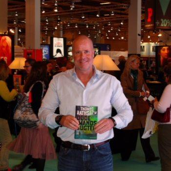 Bogmesse ifm. udgivelse af min tredje roman, Dødemandsbugten