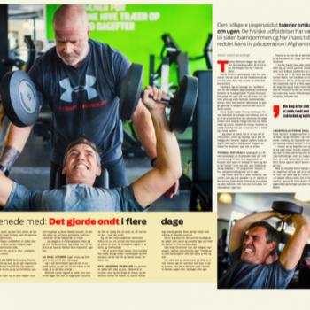 Ekstra Bladet lavede en artikel om mig og min træning