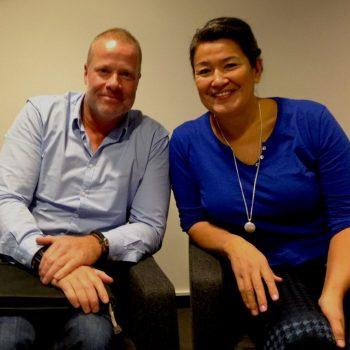 Interview med det grønlandske statsoverhoved ifm. research til min tredje roman, Dødemandsbugten