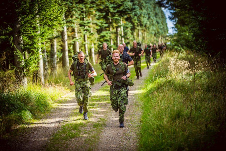 Løbetest, Sæson 1 Korpset