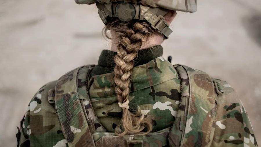 Kvindelige jægersoldater